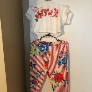 Summer pants set